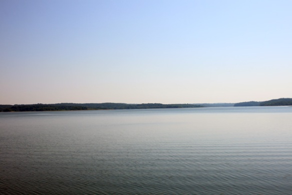 View of Patoka Lake