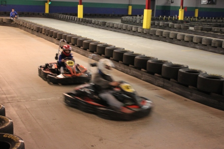 Racing at French LIck West Baden Indoor Karting